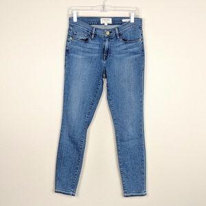 Frame Denim Le Skinny De Jeanne Crop Size 29
